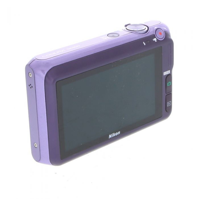 Nikon Coolpix S6400 Digital Camera, Purple {16MP}