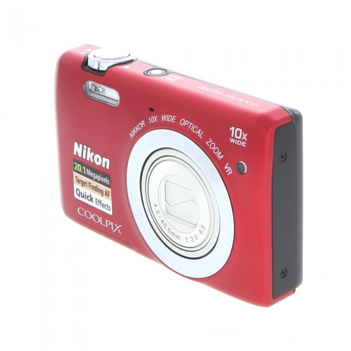 Nikon Coolpix S6700 Digital Camera, Red {20.1MP}