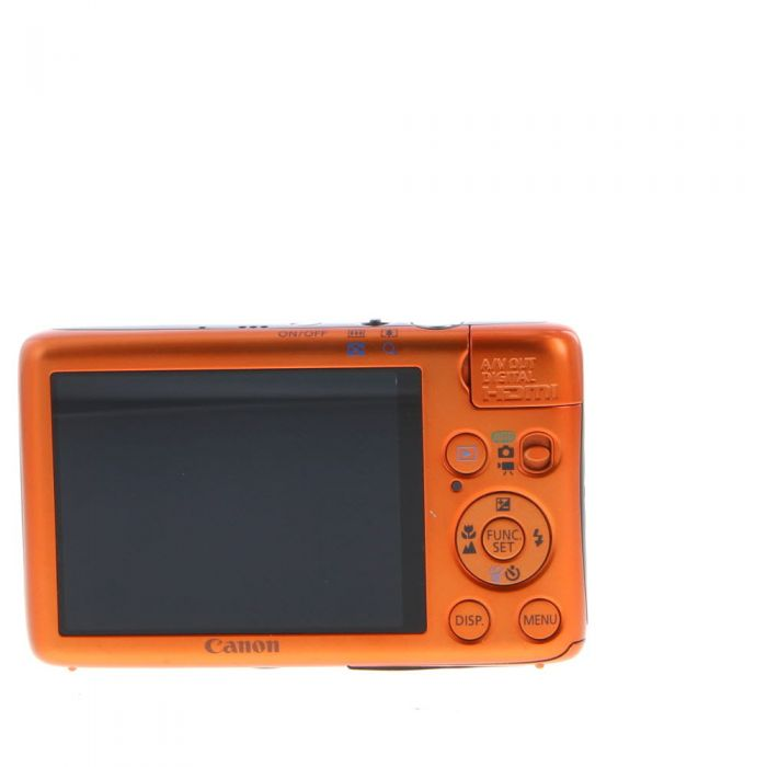 Canon IXUS 130 Digital Camera, Orange {14.1MP} (International ELPH SD1400 IS)