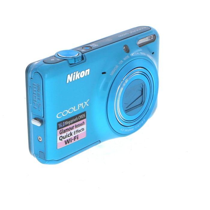Nikon Coolpix S6500 Digital Camera, Blue {16MP}