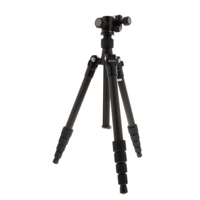 Benro C-069M8 Travel Angel Carbon Fiber Tripod With B00 Ball Head, 5 Section, 13.4-54.7\
