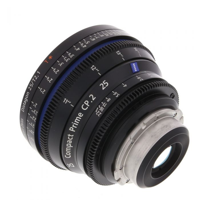 Zeiss 25mm T2.1 Compact Prime CP.2 Distagon T* (Feet) PL Mount Lens