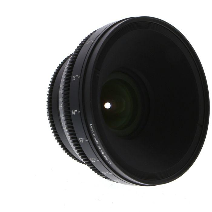 Zeiss 18mm T3.6 Compact Prime CP.2 Distagon T* (Feet) PL Mount Lens
