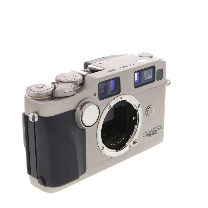 Contax G2 70 Years Anniversary Autofocus 35mm Rangefinder Camera Body, Chrome