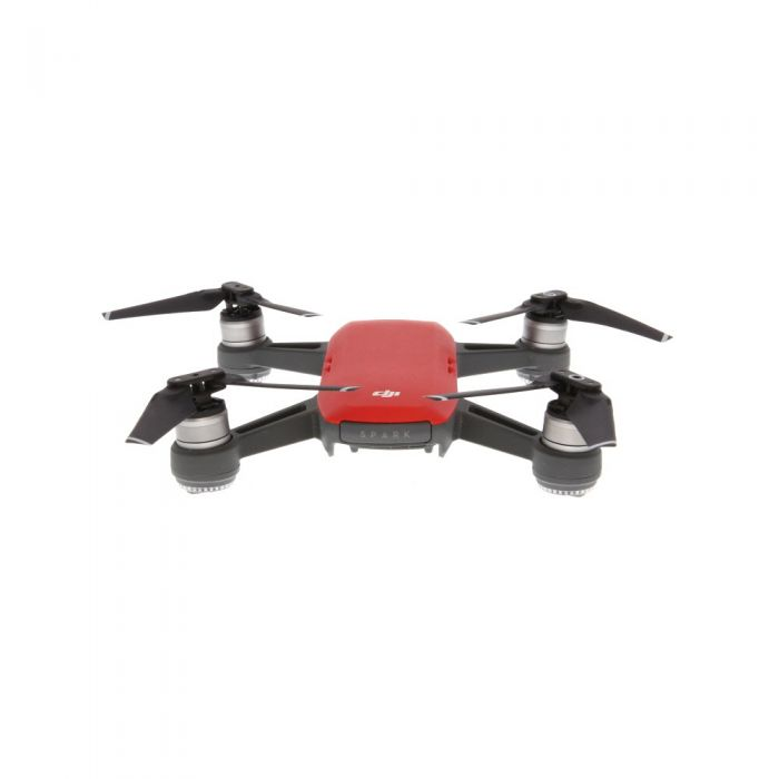 DJI Spark Quadcopter Drone, Lava Red (Requires MicroSD Card)