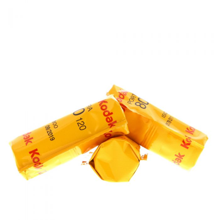 Kodak Portra 800-120 (ISO 800) Propack (5 Rolls) 120 Color Negative Film, Medium Format