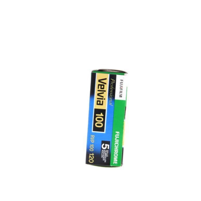 Fujifilm Fujichrome RVP 100 Velvia 120 (ISO 100) Propack (5 Rolls) Color Transparency Film, Medium Format