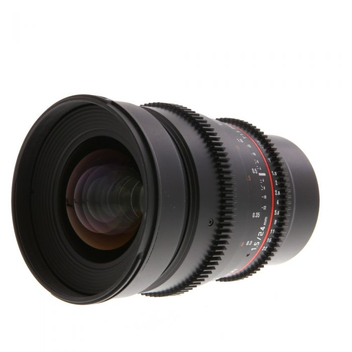 Rokinon Cine 24mm T1.5 AS ED IF UMC Manual Lens for Micro Four Thirds MFT Mount {77}