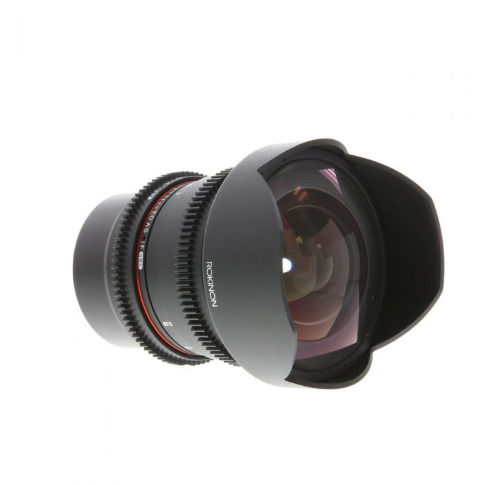 Rokinon Cine 14mm T3.1 ED AS IF UMC Manual Lens for MFT Micro Four Thirds, Black