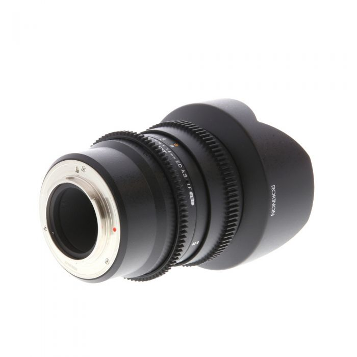 Rokinon Cine 14mm T3.1 ED AS IF UMC Manual Lens for MFT Micro Four Thirds, Black