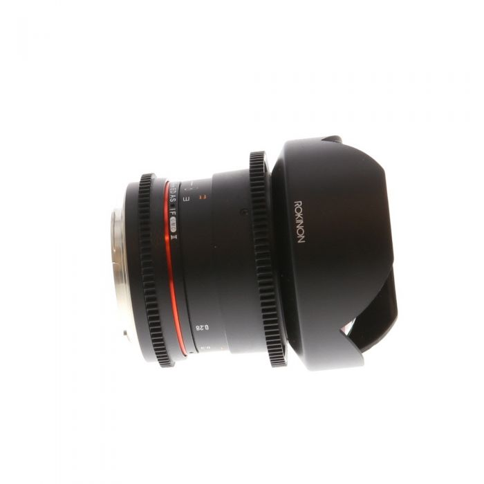 Samyang Cine 14mm T3.1 ED AS IF UMC II Manual Lens for Canon EF-Mount