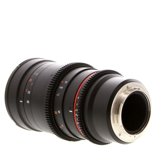 Samyang Cine 135mm T2.2 ED UMC II Lens (Manual Aperture, Manual Focus) For Canon EF Mount {77}