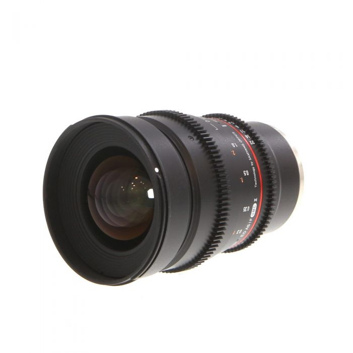 Samyang 24mm T1.5 ED AS IF UMC II Cine Manual Focus, Manual Aperture Lens for Sony E-Mount {77}