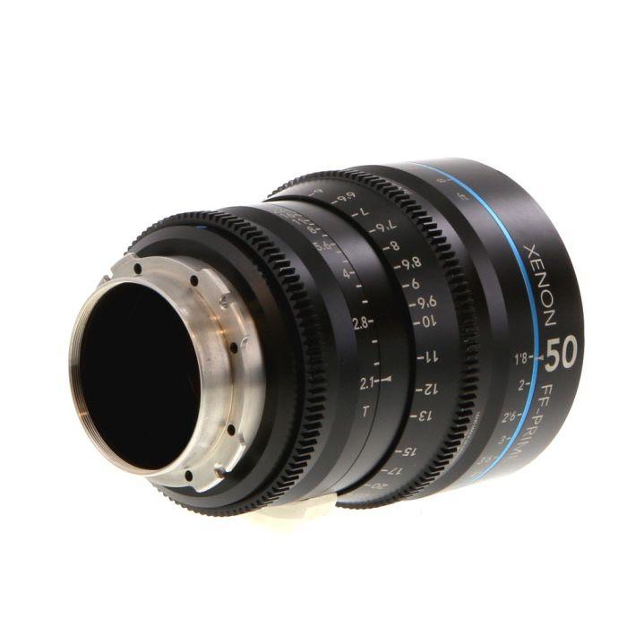 Schneider 50mm T2.1 Xenon FF-Prime PL-Mount Lens {95} (In Feet)