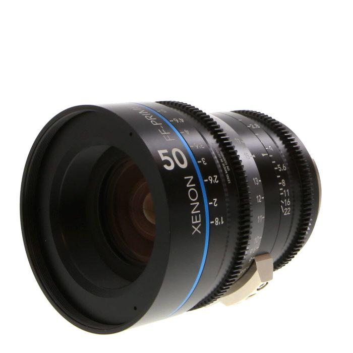 Schneider 50mm T2.1 Xenon FF-Prime Manual Focus Manual Aperture Lens For Nikon In Feet {95}