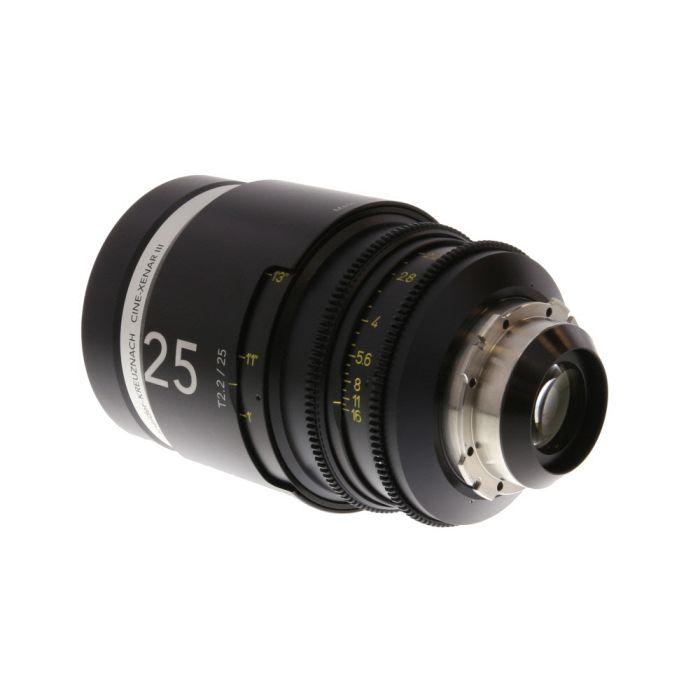 Schneider 25mm T2.2 Cine-Xenar III PL-Mount (Lens in Feet)