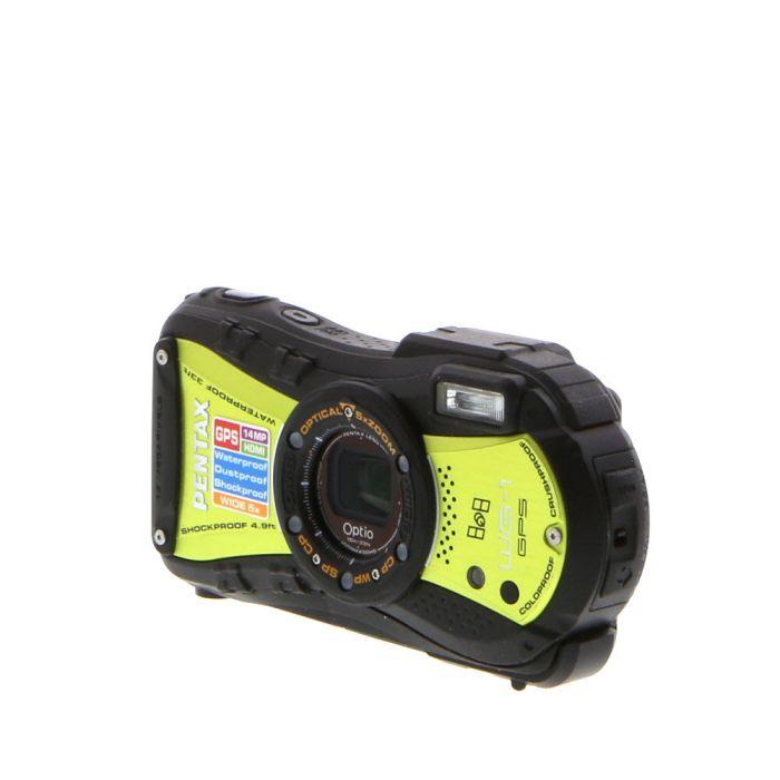 Pentax Optio WG-1 GPS Green Digital Camera {14 M/P}