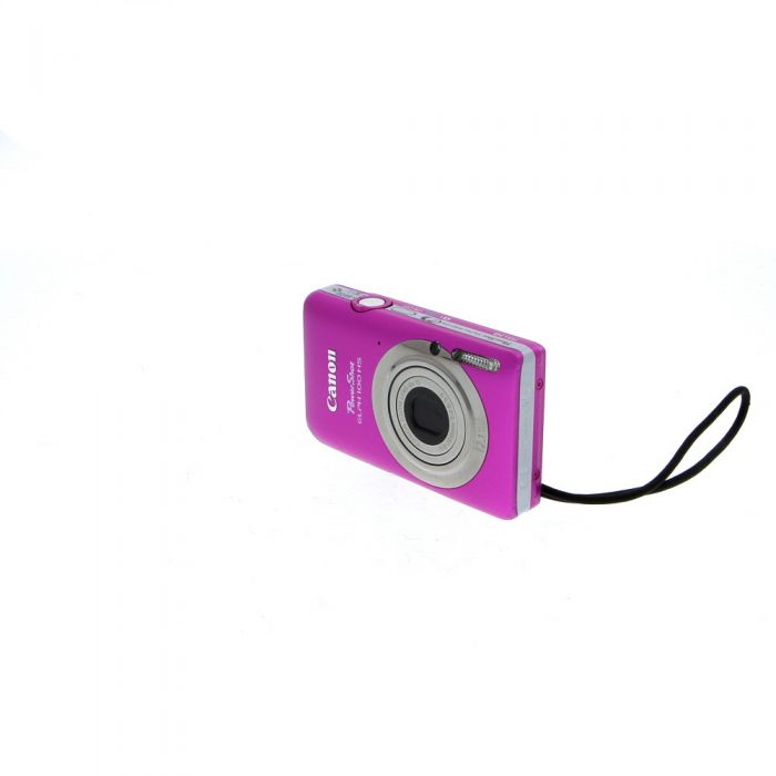 Canon Powershot ELPH 100HS Digital Camera, Pink {12.1 M/P}