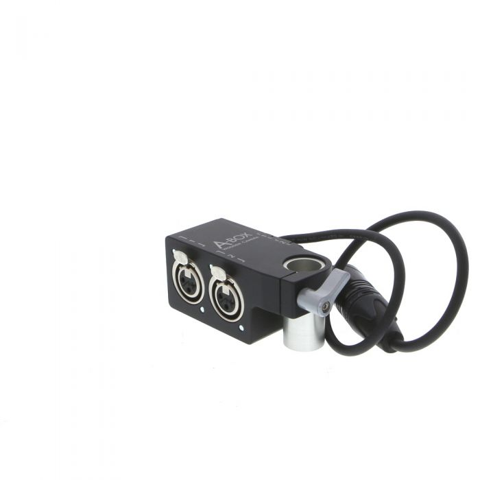 Wooden Camera A-Box Audio Distribution Adapter Box with 5-pin XLR Connector for ARRI ALEXA (161400)