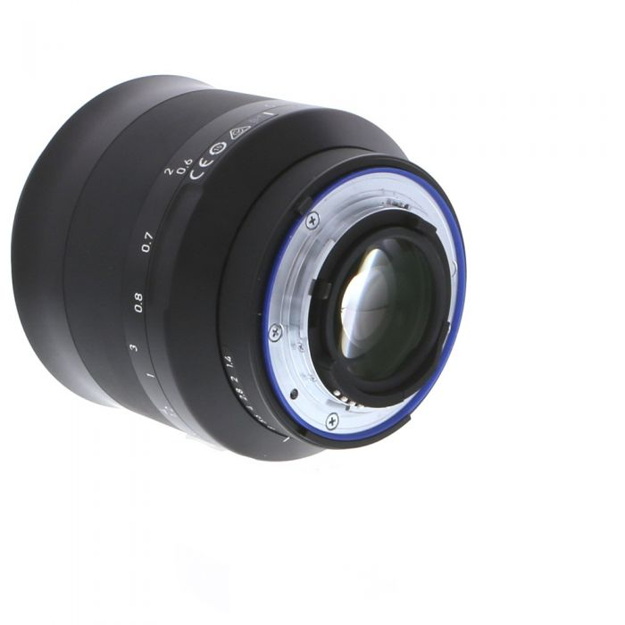 Zeiss Milvus 50mm f/1.4 T* Distagon ZF.2 Manual Focus Lens (With CPU Contacts) for Nikon F-Mount {67} without De-Click Tool