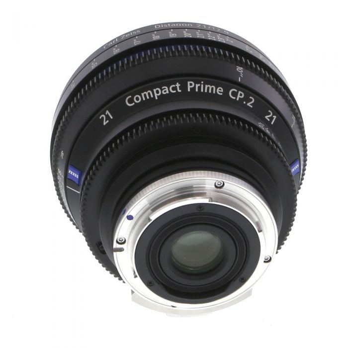Zeiss 21mm T2.9 Compact Prime CP.2 Distagon T* Manual Focus Manual Aperture Lens In Feet For Canon EF Mount