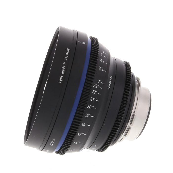 Zeiss 15mm T2.9 Compact Prime CP.2 Distagon T* (Feet) PL Mount Lens