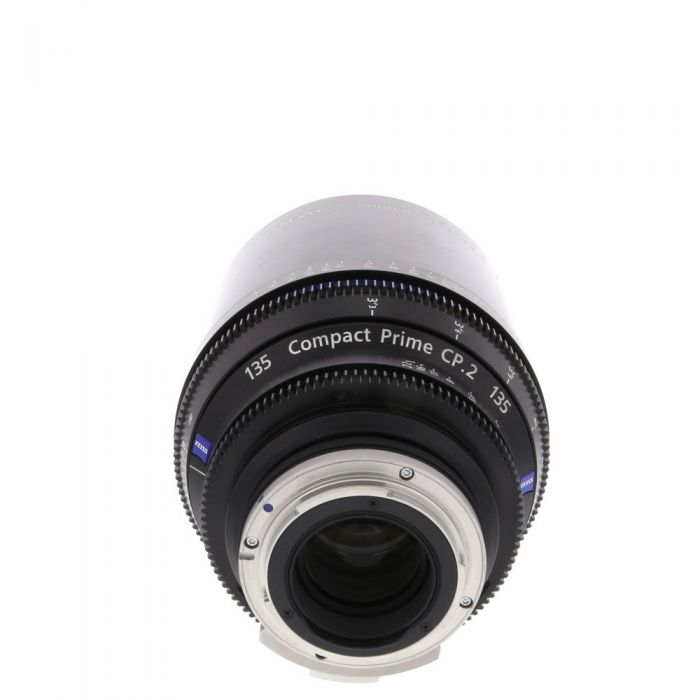 Zeiss 135mm T2.1 Compact Prime CP.2 Planar T* Manual Focus Manual Aperture Lens In Feet For Canon EF Mount