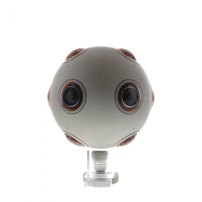 Nokia OZO PC-01 Professional Virtual Reality Camera with Small and Large Tripod Adapters, Docking Station, Protective Carbon Cover, 500GB Media Module MM-01, 3G SFP Coaxial Transceiver, System Case