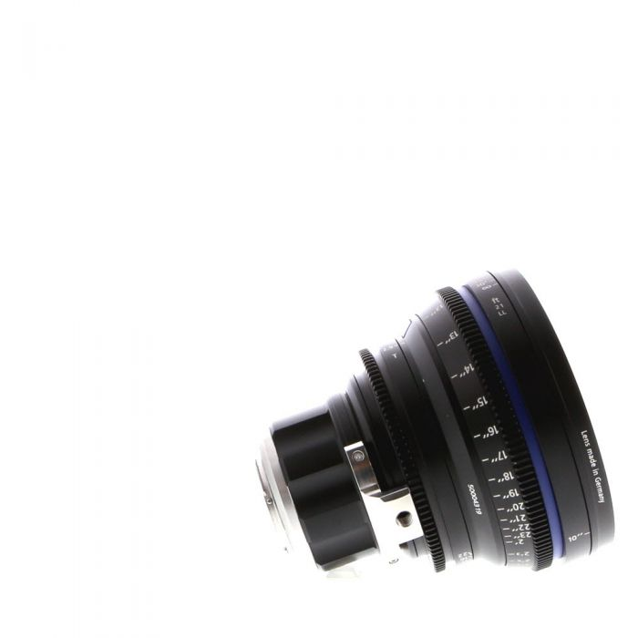 Zeiss 21MM T2.9 Compact Prime CP.2 Distagon T* Black Manual Focus, Manual Aperture Lens In Feet For Micro Four Thirds System