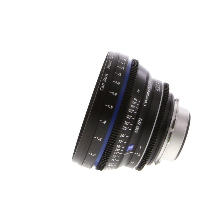 Zeiss 85mm T1.5 Compact Prime CP.2 Super Speed Planar T* PL Mount Lens