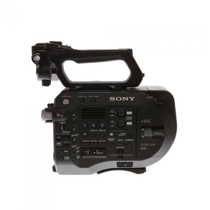 Sony PXW-FS7M2 4K XDCAM Super 35 Digital Cinema Camera with Handle, LCD Viewfinder, Grip Remote Control