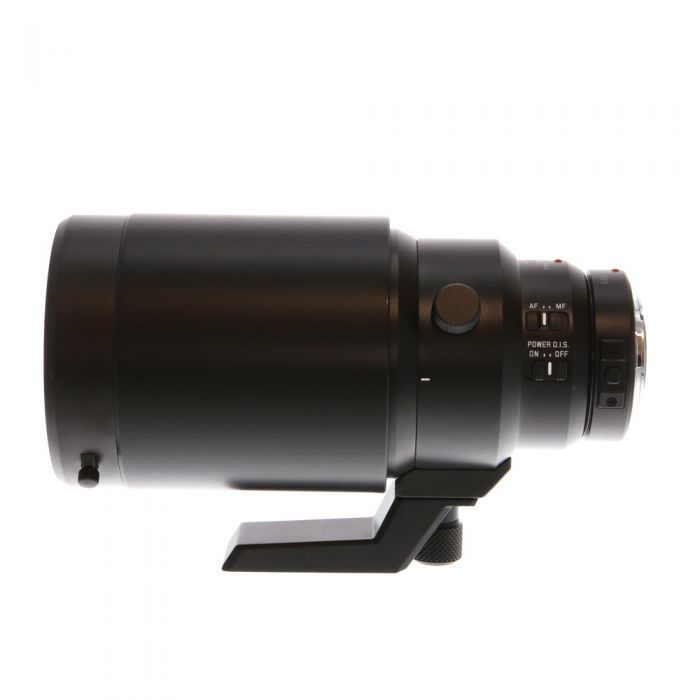 Panasonic Lumix Leica 200mm f/2.8 DG Elmarit Power O.I.S. Lens for Micro Four Thirds MFT, Black {77} with Tripod Mount , DMW-TC14 1.4X Teleconverter H-ES200