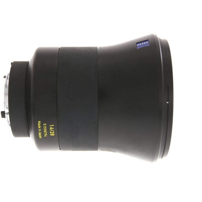 Zeiss Otus 28mm f/1.4 APO Distagon ZF.2 T* (With CPU Contacts) Manual Focus Lens for Nikon F-Mount {95}
