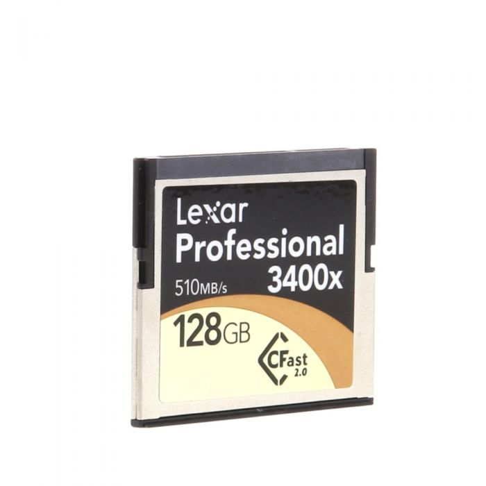 Lexar 128GB 510 MB/Second 3400X Professional CFast 2.0 (For Cameras Based On CFast 2.0 Technology)