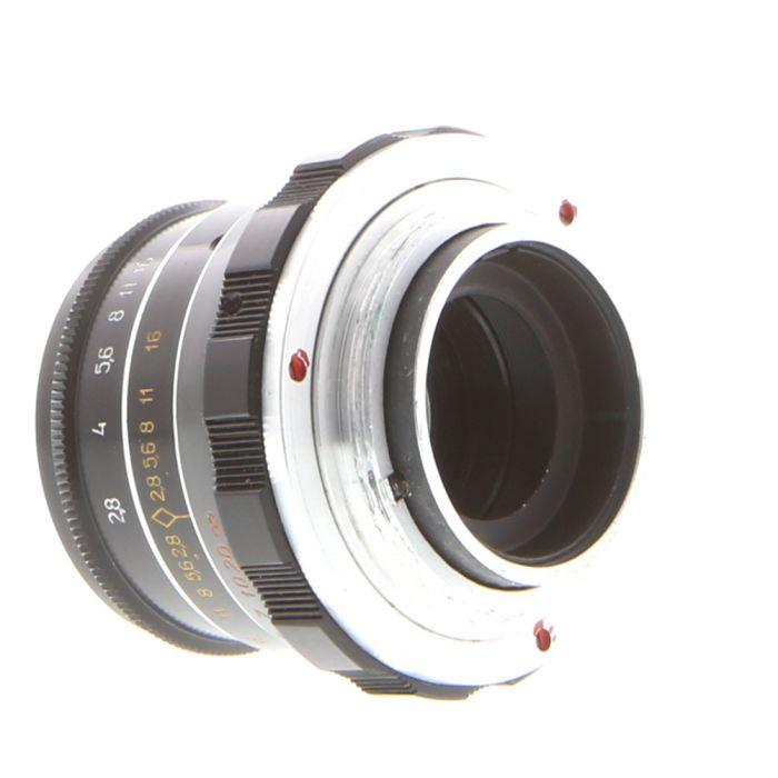 FED 55mm f/2.8 N-61 L/D M39 Lens for Leica Screw Mount, Black 40.5}