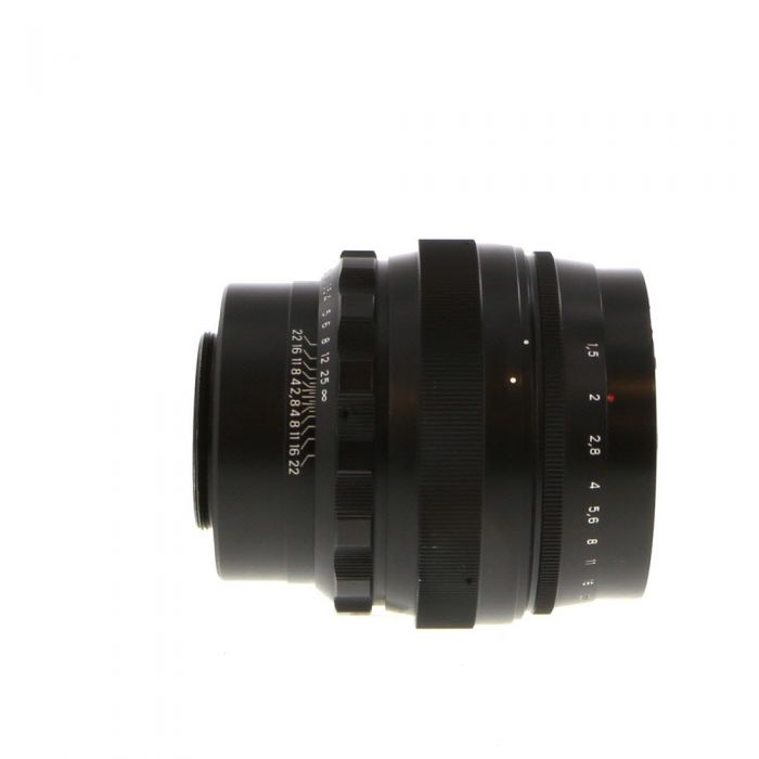 KMZ 85mm F/1.5 Helios 40-2 Pre-Set Black M42 Screw Mount Manual Focus Lens {67}