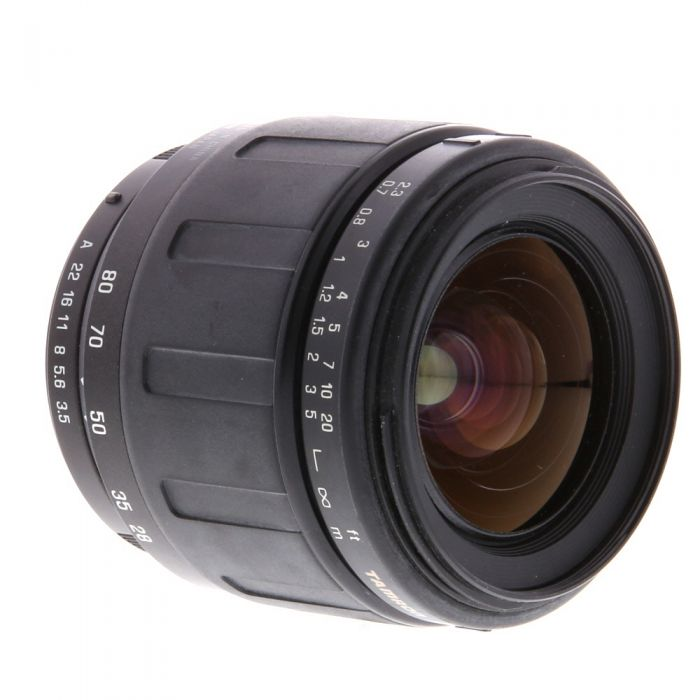 Tamron 28-80mm F/3.5-5.6 (177D) Aspherical Black Autofocus Lens For Pentax K Mount {58}