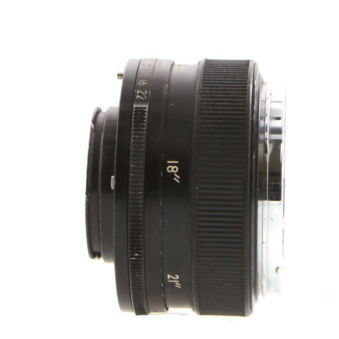 Topcon 58mm (5.8CM) F/1.8 RE-Auto-Topcor Black Lens {49}