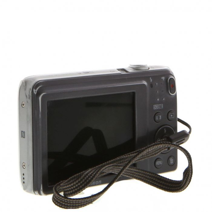 Nikon A300 Digital Camera, Silver {20.1MP}