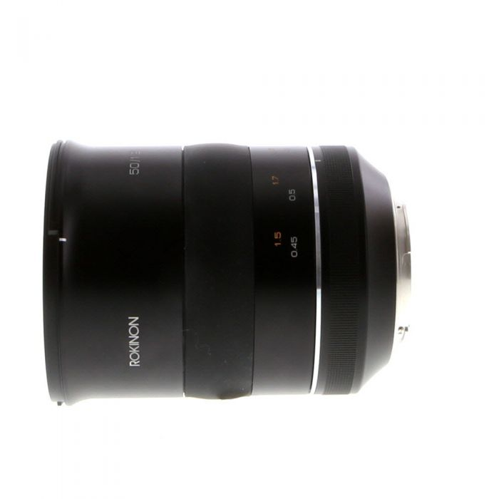 Rokinon 50mm f/1.2 SP Manual Focus Lens for Canon EF-Mount {86}