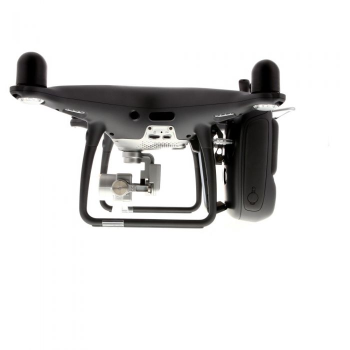 DJI Phantom-4PRO Quadcopter (Obsidian Edition, Black) Drone with 3-Axis Gimbal Stabilized 4K60/20MP Imaging (Requires MicroSD Card)