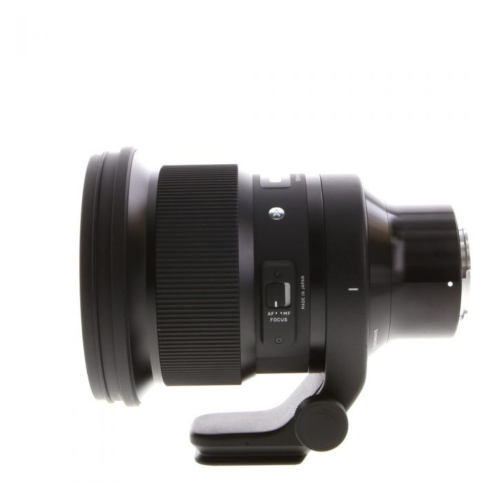 Sigma 105mm f/1.4 DG HSM A (Art) AF Lens for Sony E-Mount, Black {105} with Tripod Collar
