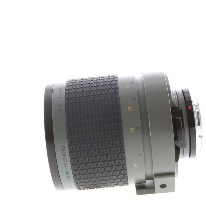 Sigma 600mm f/8 Mirror Green Manual Focus Lens For Canon EF Mount {95, 30.5 Drop-In}