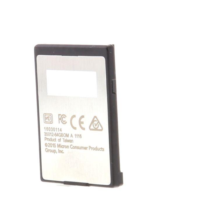 Lexar 64GB XQD 440 MB/S 2933x Memory Card