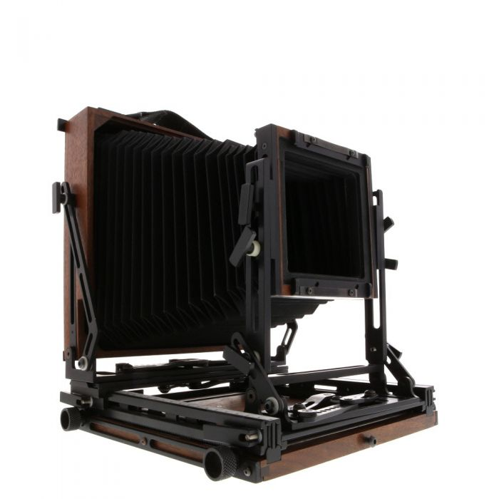 K B Canham 5X7 T657 With 4x5 Reducing Back, Wood Field Large Format Camera