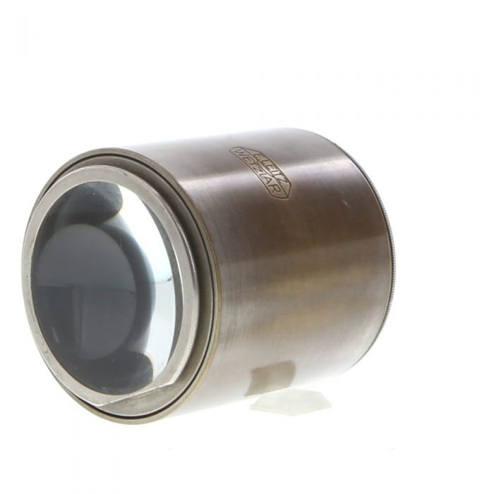 Leica LOOFV 5x Large Field Magnifier, Nickel (for FULDY)
