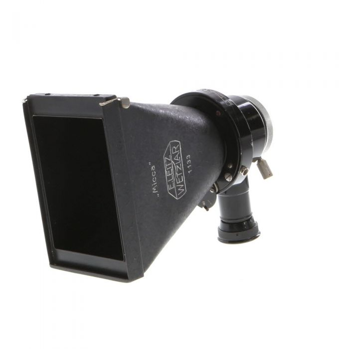 Leica Micca Microscope Plate Camera with Right Angle Finder