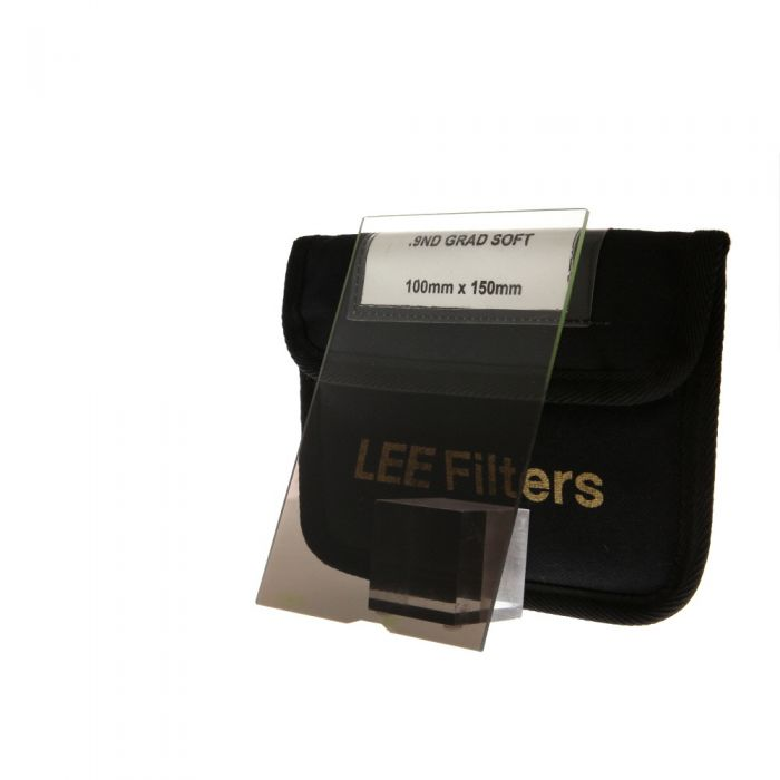 LEE Filters 4x6 Inch Graduated Soft 0.9 Neutral Density ND Filter