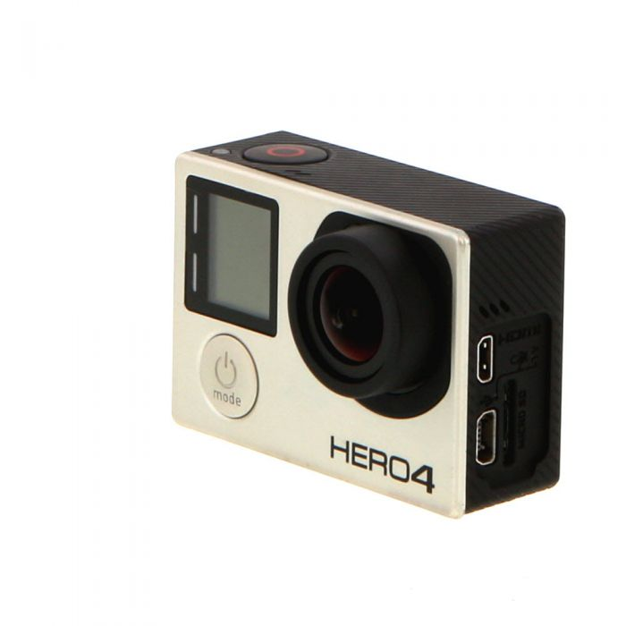 GoPro Hero 4 Silver Edition Digital Action Camera Without Underwater Housing {12 M/P}