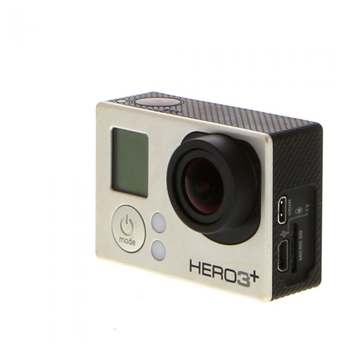 GoPro Hero 3+ Silver Edition Digital Action Camera without Housing {12MP}